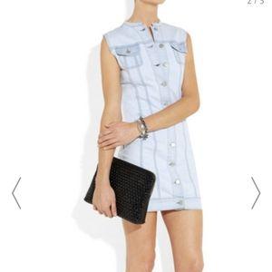Jbrand Button Up Denim Dress Size S